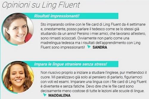Opinioni di Ling Fluent sul sito web