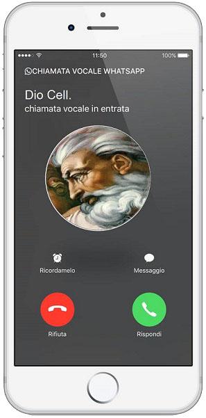 Il telefono squilla, è Dio che ti chiama.